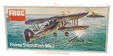 Vintage FROG 1/72 Fairey Swordfish Mk.1 Model Kit F258