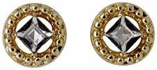 Pilgrim Stud Earrings Gold Plated 621812023