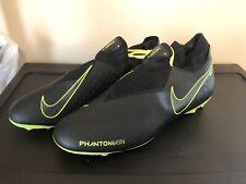 Mens Nike Phantom Vision Pro Fg Soccer Cleats Size 11 Black Volt Firm Ground Bal