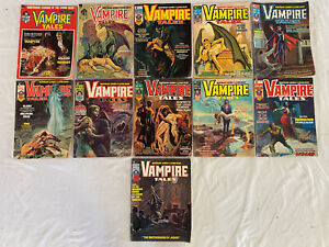 Marvel Vampire Tales #1-11, 1973