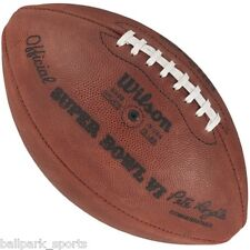 SUPER BOWL 6 VI - Wilson Official Game Football (DOLPHINS COWBOYS)