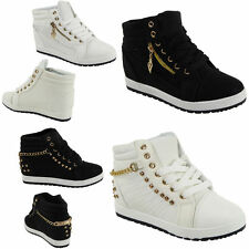 Wedge Lace Up Synthetic Boots for Women