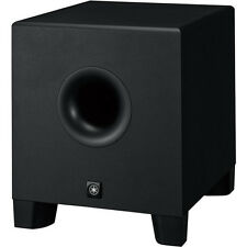 "Yamaha HS8S 8"" Bass Reflex 150W Active Powered Studio Subwoofer Sub - NEW!"