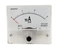 DC 0-3mA Analog AMP Current Panel Meter Ammeter 85C1