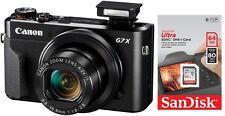 Canon Powershot G7X Mark II + Zubehörpaket ( 64GB SanDisk) ! G7 x + 25€ Cashback