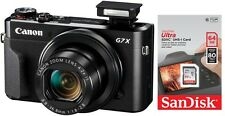 Canon Powershot G7X Mark II + 64 GB ! G7 x + Zubehörpaket (64GB) + 25€ Cashback