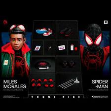 Youngrich Toys Sp002 Into the Spider-Verse Miles Morales Battle Suit 1/6 Figure