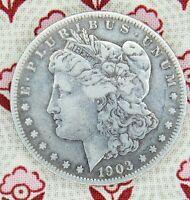 """1903-S """"Micro S"""" Morgan Dollar Silver ---- Crazy Rare Coin   ----Hot 100!"""