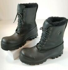 Terra Mens Winter Insulated Work Boots Thermatoe Black Size US 11.5 / UK 11