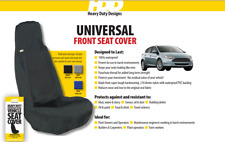 HDD Universal Fit Front Van Seat Cover BLACK 201 Heavy Duty Designs
