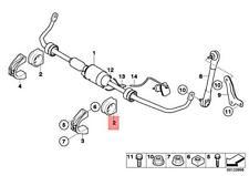 Genuine BMW ROLLS-ROYCE Alpina Drophead Stabilizer Rubber Mounting 31356753913
