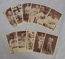 Black History - Negro League Legends Baseball Postcard Set - New Old Stock