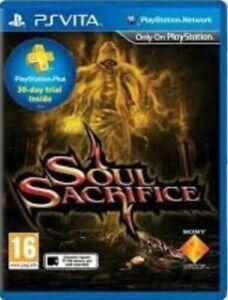 Soul Sacrifice - PS VITA Game NEW SEALED **EU VERSION**