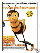 Affiche 120x160cm BEE MOVIE - DRÔLE D'ABEILLE 2007 Hickner - Film Animation NEUV