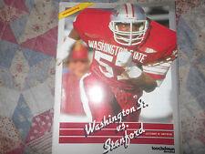 1987 Stanford Cardinal-Washington State Cougars Program College Football Wsu Ad