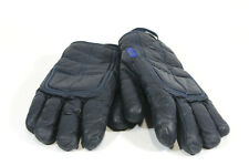 VINTAGE Conroy Motorcycle Gloves Imported Leather Blue Mens XL WPL 9461 Used
