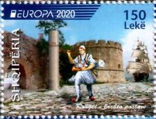 Albania Stamps 2020. Europa Cept: Ancient Postal Routes. Set Mnh