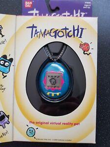 Original Bandai 1996-1997 Tamagotchi gen 1 - blue - boxed - english version