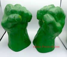 "2003 Marvel Hulk Hands (12"", Tested, Sounds Great)"