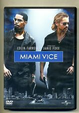 Colin Farrel Jamie Foxx # MIAMI VICE # Universal Pictures DVD-Video 2006