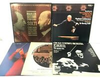 Chicago Symphony Orchestra Classical Record Album Lot of 5 Mahler Solti Reiner