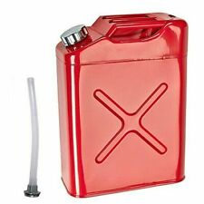 20L 5 Gallon Steel Fuel Gasoline Petrol Diesel Jerry Can Tank Container Backup