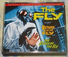 THE FLY TRILOGY (Sawtell/Shefter) rare ltd.ed. factory sealed 2-cd set (2006)