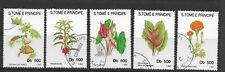 Sao Tome and Principe 1993 Flowers F/U (78)