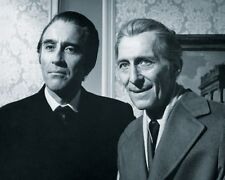 Christopher Lee and Peter Cushing Horror Film Legends #2 10x8 Photo