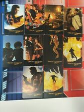 10 x DIFF WORLD IS NOT ENOUGH JAMES BOND MINT UNUSED REMOTE MEMORY PHONECARDS