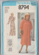 Vintage SIMPLICITY  Ladies Sewing Patterns  8 Designs!! Reduced to Clear!