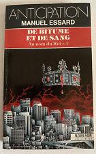 (FN974) ANTICIPATION FLEUVE NOIR  ? N° 1827 - DE BITUNE ET DE SANG