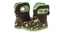 BOGS Baby Green Zoo Boys Children Kids Rainboots Winter Boots Waterproof Sz 9