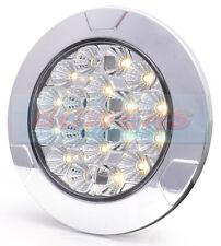12V/24V LARGE ROUND LED INTERIOR LIGHT LAMP WITH MOTION DIMMER SWITCH CAMPERVAN