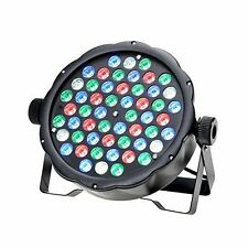 54 * 1W LED RGBW Super Thin 8 Channel DMX512 Stage PAR Light DJ Party Club Lamp