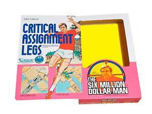 Kenner Six Million Dollar Man Critical Assignment Legs Reproduction Box