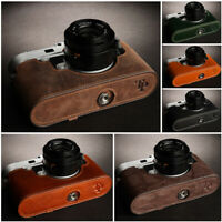 Genuine Leather Half Case Camera Bag Cover fit for LEICA M10 M10-P Handmade New