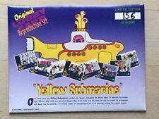 The Beatles Yellow Submarine Lobby Card Limited # 156 Repr. set 1999 Aushangfoto