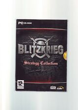 BLITZKRIEG STRATEGY COLLECTION inc BURNING HORIZON - PC GAME ORIGINAL & COMPLETE