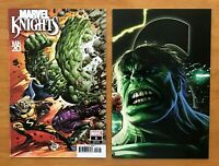 Marvel Knights 20th 6 Mike Deodato VAR + Kaare Andrews Connecting VAR Marvel NM