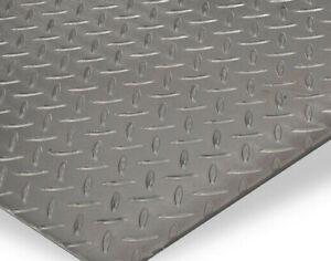 4-5mm Stahl Tränenblech Warzenblech Stahl Riffelblech Blech Wunschmaß Abdeckung