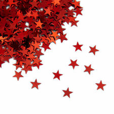 Stern Konfetti Rot über 500 Stück Streu Deko Tischdeko Weihnachtsdeko