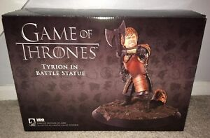 Game of Thrones Tyrion in Battle Statue Dark Horse Limited Edition of 3000