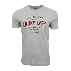 QUIKSILVER MENS MOUNTAIN AND WAVE T SHIRT