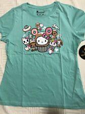 Tokidoki: Hello Donut Kitty (XL) Woman Shirt [TK-W]