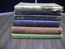 Lot of  6 Literature Hardcover Antique  Written English, Plays, Modern American