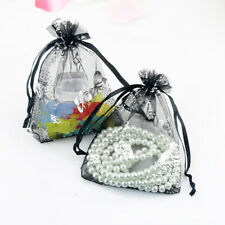 Wholesale 50pcs Butterfly Drawstring Organza Gift Bag Big Wedding Favor Pouches