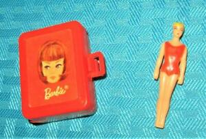 VINTAGE BARBIE 4 TUTTI LETS PLAY BARBIE CLOTHES AMERICAN GIRL CASE MINI DOLL LOT