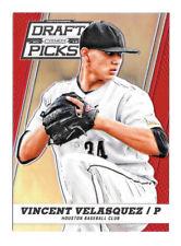 2013 Vincent Velasquez Panini Prizm Draft Picks Rookie Red Refractor /100