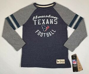 HOUSTON TEXANS SHIRT KIDS LARGE NFL TEAM APPAREL